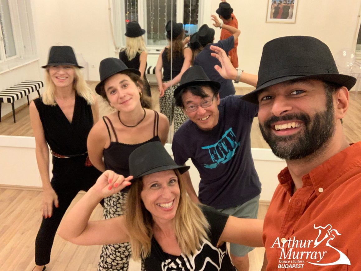 NeoSwing Dance lesson at Arthur Murray Budapest