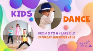 KIDS DANCE Classes for 3-6 year olds @ Arthur Murray Budapest Dance Studio