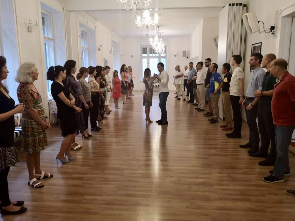 Dance lessons in English bring Expat community to Arthur Murray Budapest
